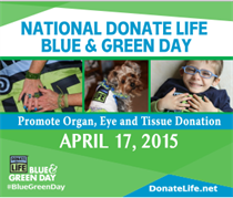 Blue And Green Awareness Day